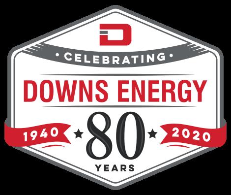 80 years badge